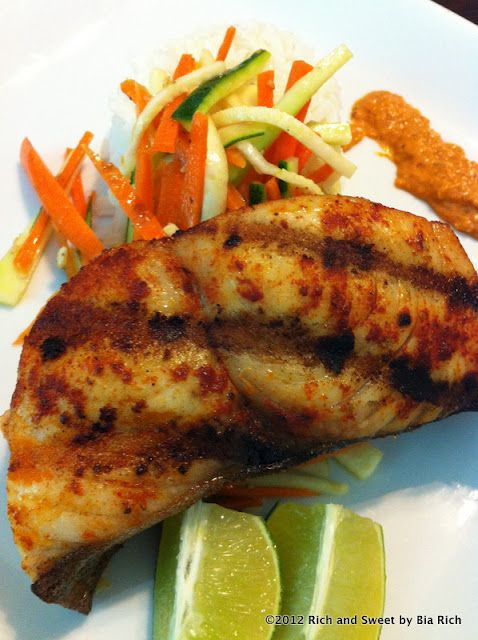 Rich and sweet grilled spicy wahoo fillet best food for Ono fish recipe