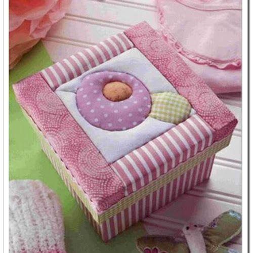 Blog De Manualidades Manualidades Para La Casa Paso A Paso Diy Ideas Para Manualidades Manualidades Con Telas Goma Eva Decorative Boxes Fabric Boxes Diy