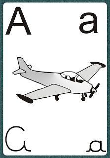 Alfabetos Ideia Criativa: Alfabeto 4 Letras Verde Fundo Branco