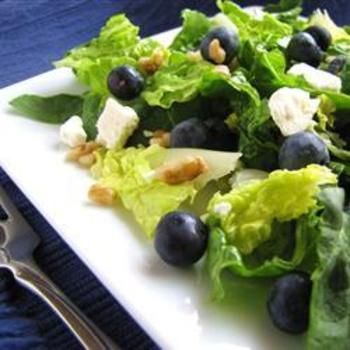 Blueberry Walnut Salad  ~Flirt.com