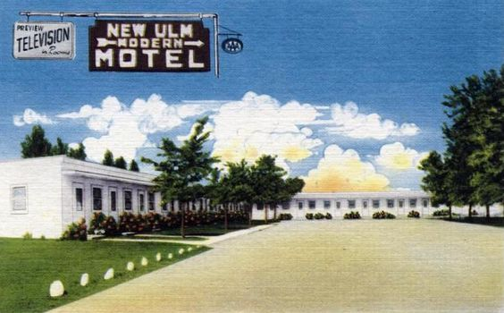 new ulm motel new ulm minnesota 1950 39 s minnesota. Black Bedroom Furniture Sets. Home Design Ideas