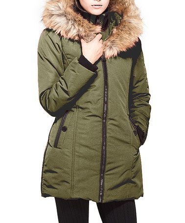 Look what I found on #zulily! Meadow Oversized Hood Coat #zulilyfinds