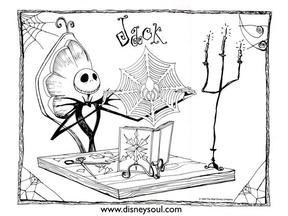 nightmare before christmas coloring pages oogie boogie tattoo