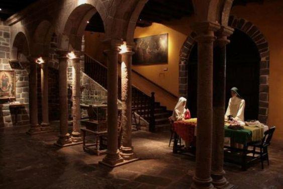 Monasterio y Convento Santa Catalina in Cusco, Peru is both meditative and aesthetically amazing.
