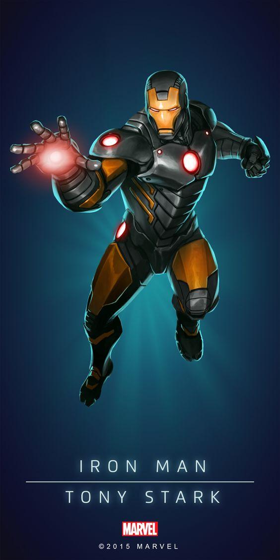 #Iron #Man #Fan #Art. (Iron Man In: Marvel Puzzle Quest!) By: Amadeus. Cho. ÅWESOMENESS!!!™ ÅÅÅ+