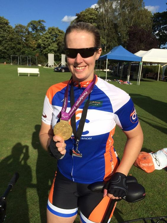 All #CFC kit is now half price!!! Here is the women's CFC Jersey and shorts modeled by #Paralympic #Gold #Medallist Naomi Riches. #cycling #kit #cycle http://www.ebay.co.uk/sch/the_charity_bike_shop/m.html?_nkw&_armrs=1&_ipg&_from