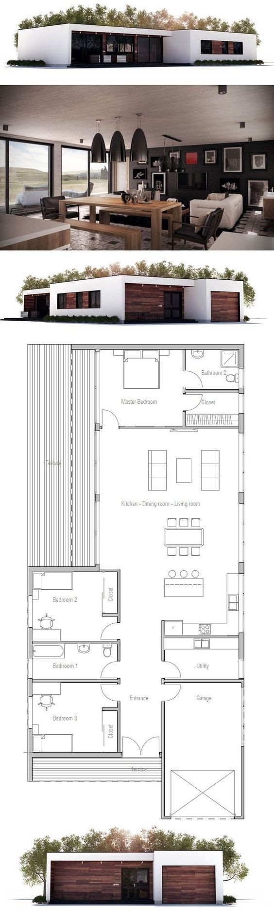 Single storey home flat roof future vertical expansion 6 social side - Single Storied Flat Roof House Less Than 3000sqft Keralahousedesigner Com Pinterest Flat Roof House And Flat Roof
