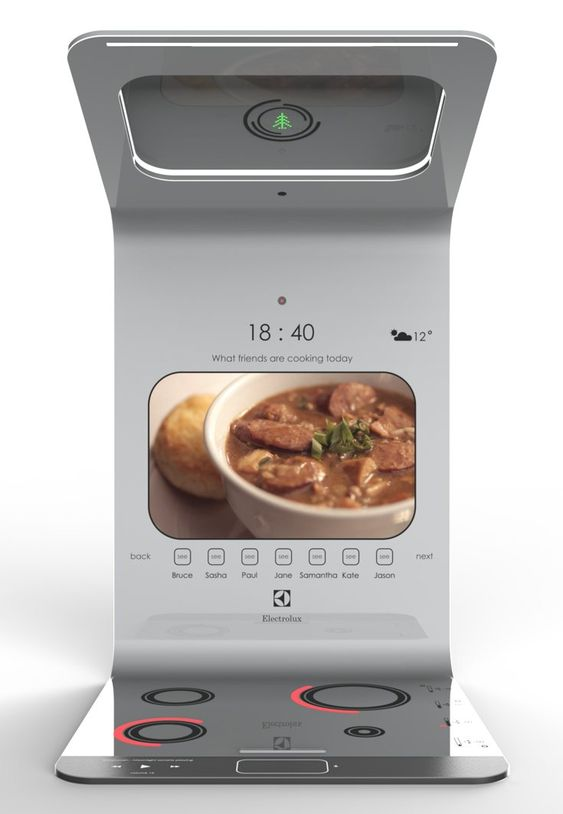 The smart and social chef-maker. Read More: http://www.yankodesign.com/2016/11/20/the-smart-and-social-chef-maker/