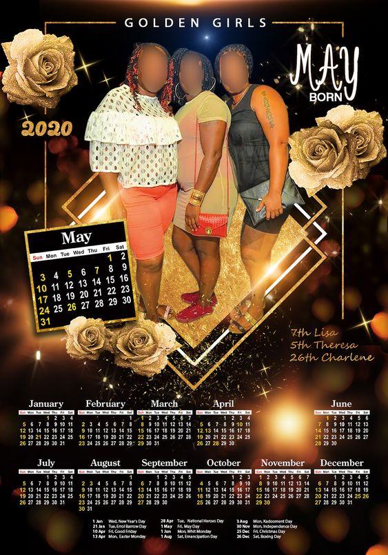 Barbados Custom Calendars