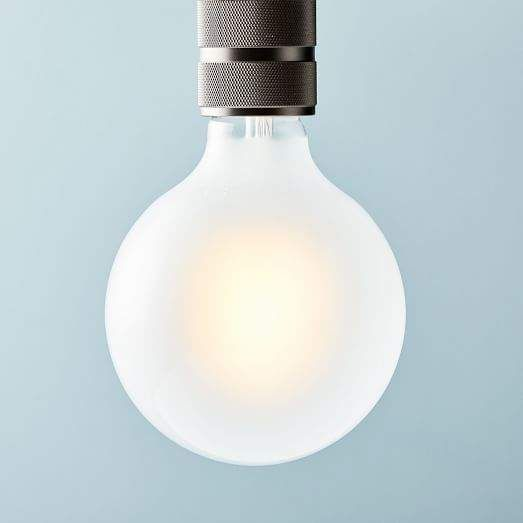 West Elm Led Light Bulb Frosted Large Globe
