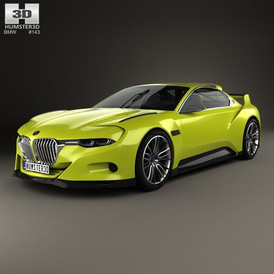 bmw 3 0 csl hommage 2015 3d model models 3d and bmw. Black Bedroom Furniture Sets. Home Design Ideas