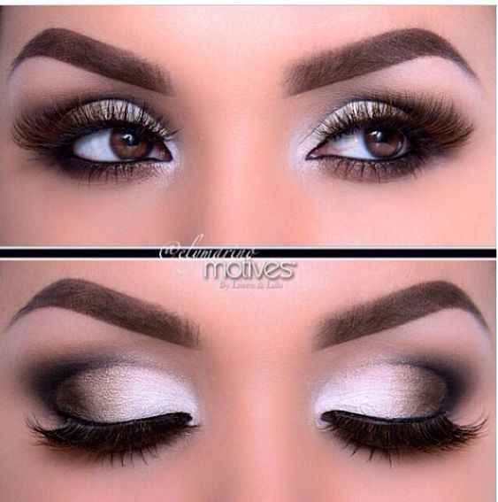 Beautiful Smokey Eye Make up for Brown Eyes Visit my site Real Techniques…
