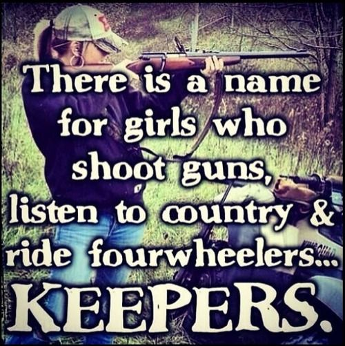 Me. But only if listening to country means listening to the sounds while camping. :')