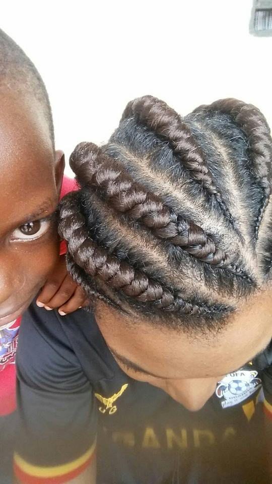 Big Pencil Style Locally Called The Kiswahili Hair Styles Pencil Fashion Hair Wrap