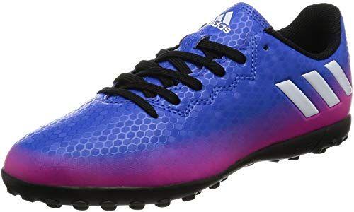 Blue adidas Performance Boys Kids Messi 16.4 Turf Football Trainers