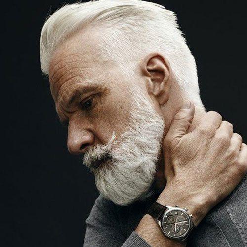 25 Best Hairstyles For Older Men 2021 Styles Older Mens Hairstyles Old Man Haircut Grey Hair Men
