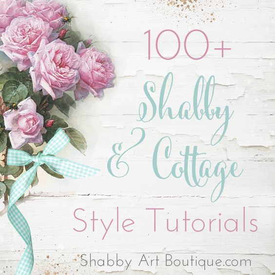 Shabby Art Boutique 100+ Tutorials. DIY