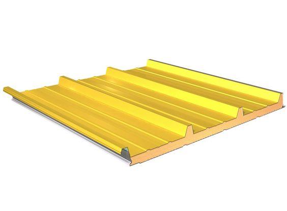 Descarga el catálogo y solicita al fabricante Termocoperture® tcp/c by Elcom System, panel metálico aislante para cubierta, colección Termocoperture®