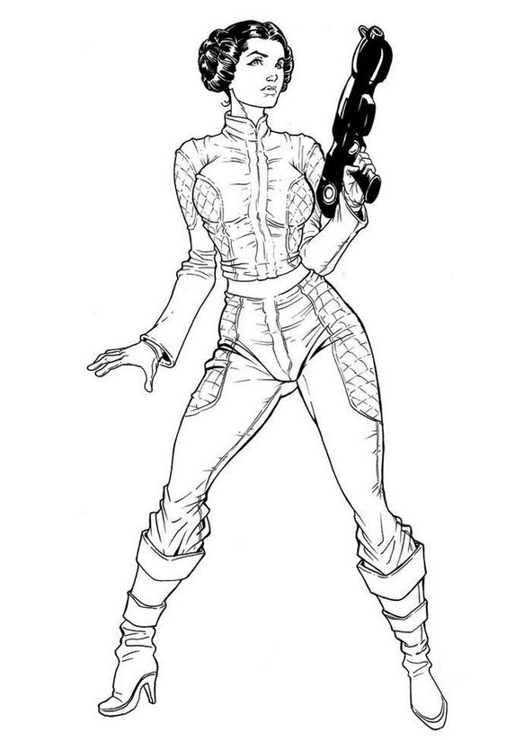 Having And Showing Princess Leia Coloring Pages To Print Might Be A Fun Activity To Do Among Star Wa Star Wars Coloring Sheet Star Wars Drawings Leia Star Wars