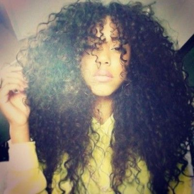 Pretty Crochet Hair Styles : big hair natural hair beautiful crochet braids hair style braid hair ...