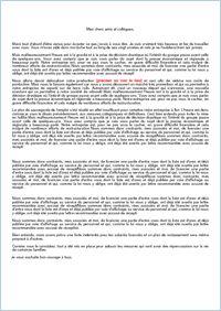 Condoléances : Condoléance (décès suite à une crise cardiaque) - Condoléances - ABC-Lettres par l'Obs