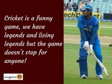 Cricket Is A Funny Game With Legends Kumar Sangakkara