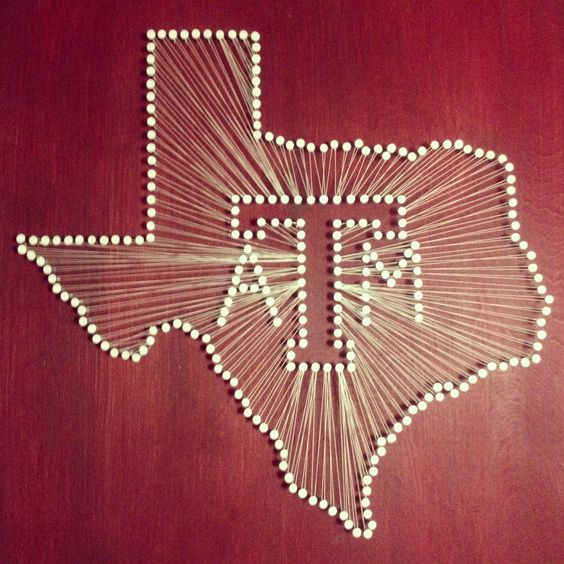 Texas texas girls and cali on pinterest - String art modele ...