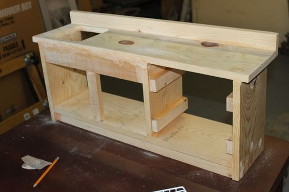 MADE: Pieces For Reese: 18 inch Doll: Kitchen Part 1 Sink / Dishwasher