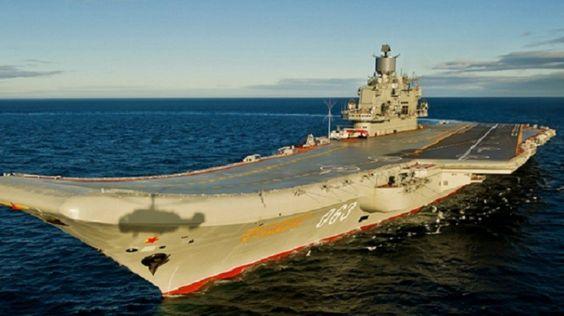 Un porte-avion russe va traverser la Manche : panique à bord du côté de Londres — RT en français