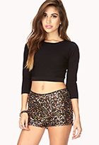 Confetti Sequined Shorts #ForeverHoliday