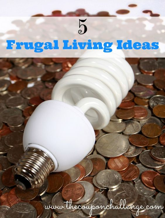 5 Frugal Living Ideas to help you save everyday
