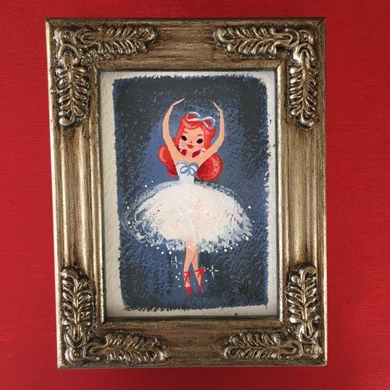 Red Shoes Ballerina - Liana Hee