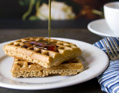 healthy whole grain waffle recipe