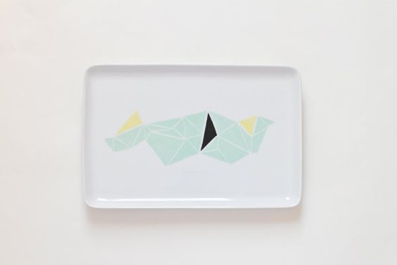 Geometric platter from Asleep from day