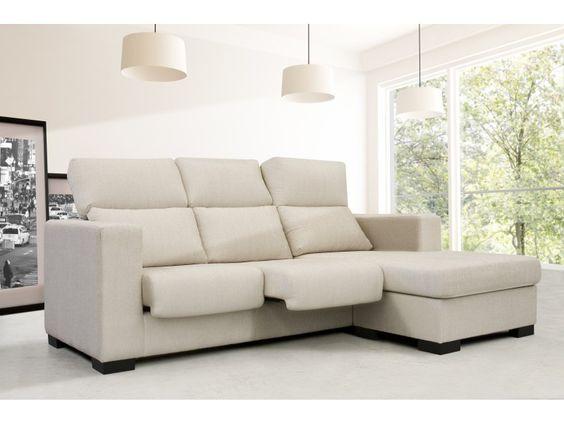 Sofa sofas blanco chaiselongue el mejor descanso - El mejor sofa ...