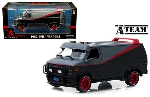 1983 Gmc Vandura Van The A Team 1 24 Scale By Greenlight 84072 A