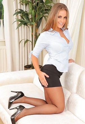 Hot black women in pantyhose