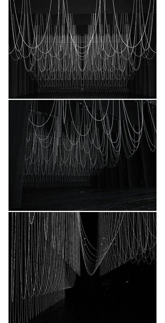 """Set design forOpera """"Le Grand Macabre""""at New National Theatre, Tokyo. By Ryuji Nakamura."""