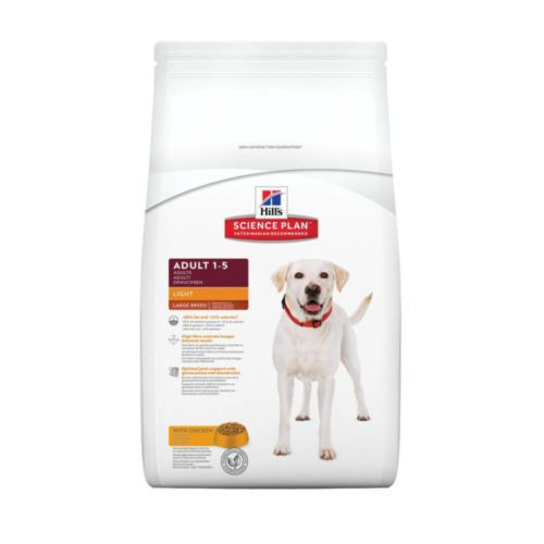 Hill S Science Plan Canine Light Adult Large Breed Dry Dog Food Chicken 12kg Dogfood Pets Supplies Care Food Dog Food Recipes Dry Dog Food Adult Dogs