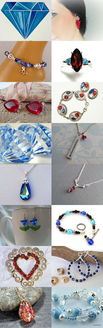 Bling! by Maile Baldwin on Etsy--Pinned with TreasuryPin.com