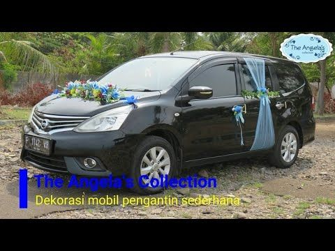 Dekorasi Mobil Pengantin Sederhana Wedding Car Decoration Youtube Mobil Pernikahan Mobil Pengantin