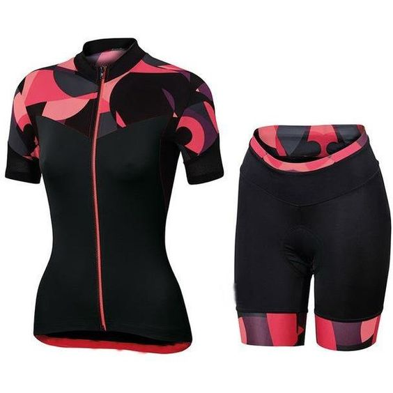 Summer Short Sleeve Cycling Jersey Set Women Breathable Mtb Bicycle Cycling  Clothing Downhill  39431b548