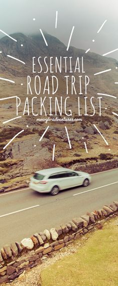 Planning a road trip? This essential road trip packing list will play a major role in the success of your adventure. Be prepared and safe travels! http://finelinedrivingacademy.co.uk