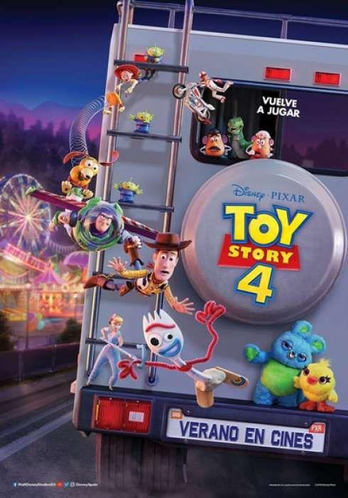 Cartel Oficial En Espanol De Toy Story 4 Pelicula Toy Story Toy Story Descargar Pelicula Gratis