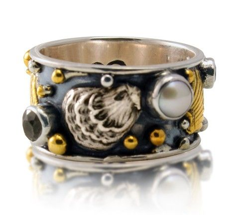 caracol inspired jewelry and handbags mars and valentine botticelli band ring 16900 httpwwwcaracolsilvercommars and valentine bottice - Mars And Valentine
