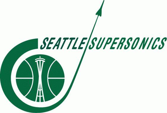 Seattle SuperSonics logo 1967-70