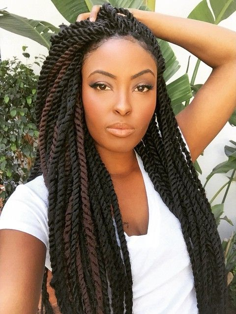 Nice twisted braids: