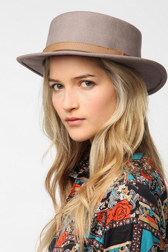 Brixton Avenue Boater Hat - Urban Outfitters
