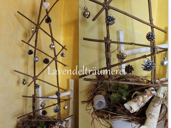 Lavendelträumerei: Selbstgemachte Weihnachtsdekos