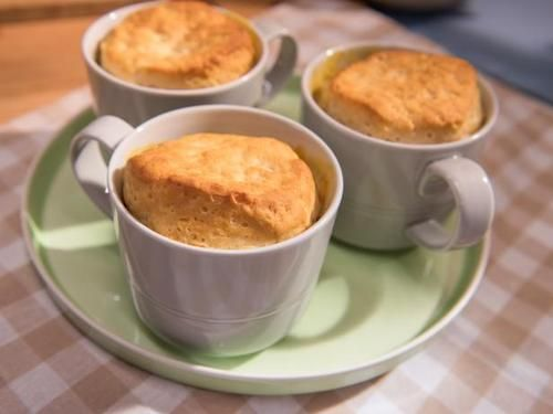 """Chicken Pot Pie in a Mug (Most-Searched Comforting Classics) - Jeff Mauro, """"The Kitchen"""" on the Food Network."""